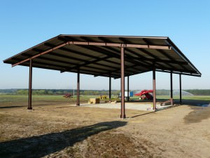 PreEngineered Agricultural Shelters made from hand