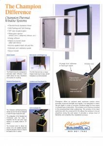 Custom Windows for Preengineered homes